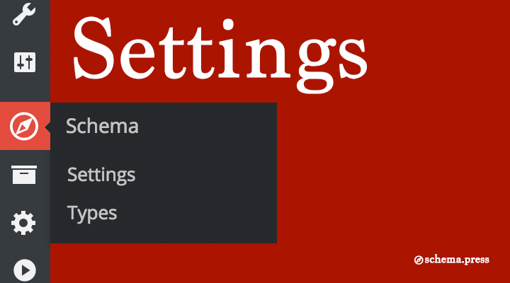 Schema Plugin Settings Page