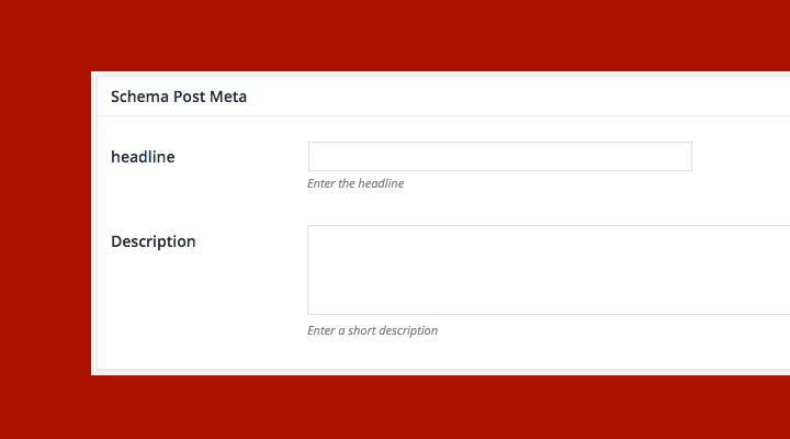 Using Post Meta Generator for Headline & Description