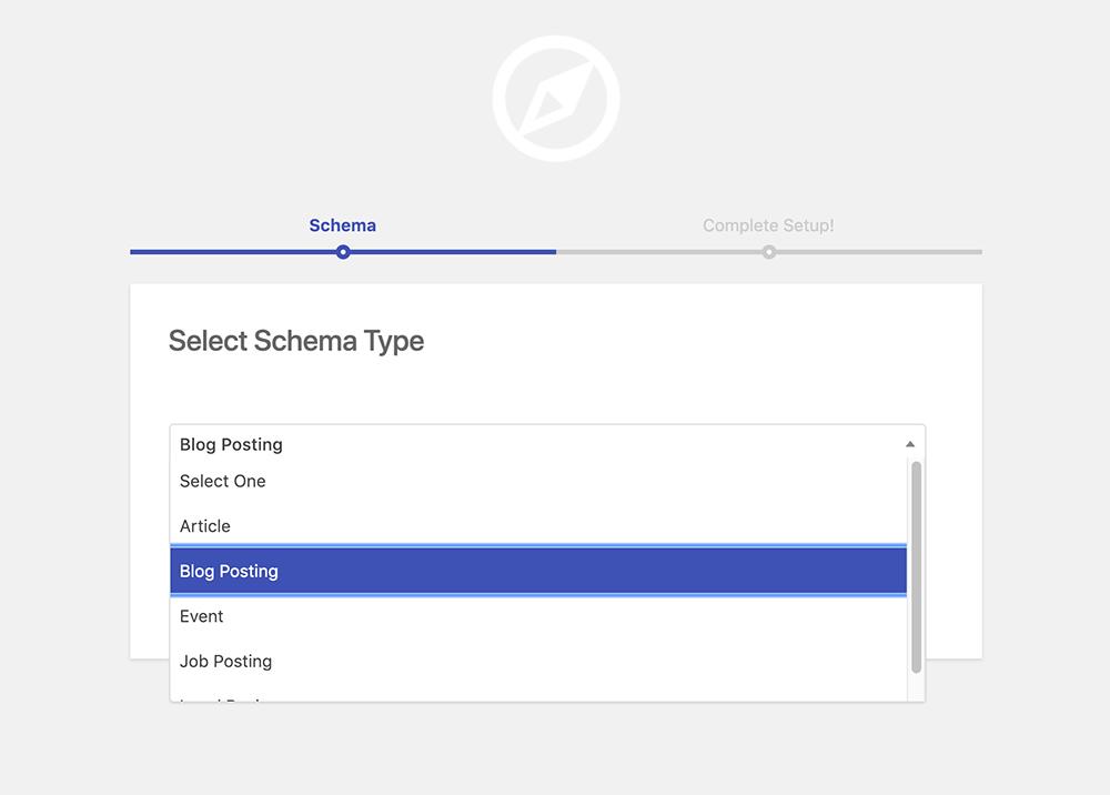Select schema.org BlogPosting