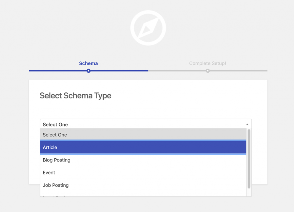 Schema Premium plugin add new schema.org type screen