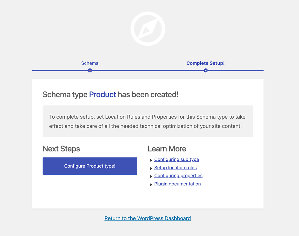 Create Schema.org for Product